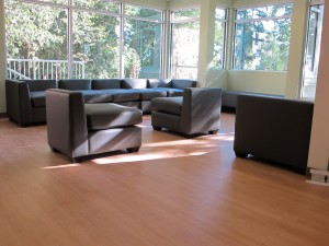 New West Youth Centre Sitting Areas