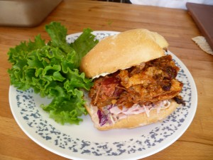 The Ranch Bbq Pulled Pork Sandwich