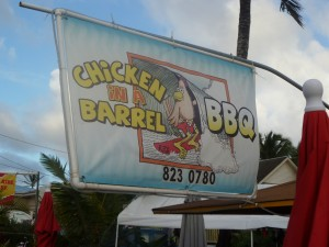 Chicken in a Barrel