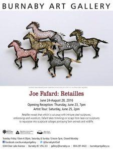 Joe Fafard; Retailles