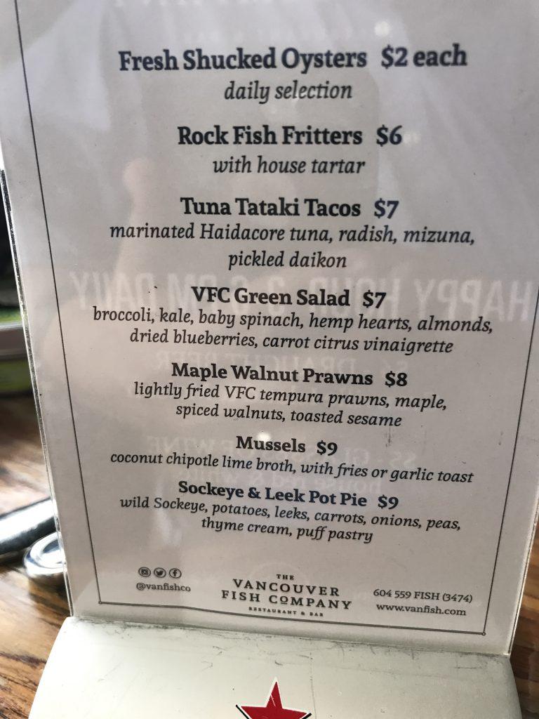 Vancouver Fish Company