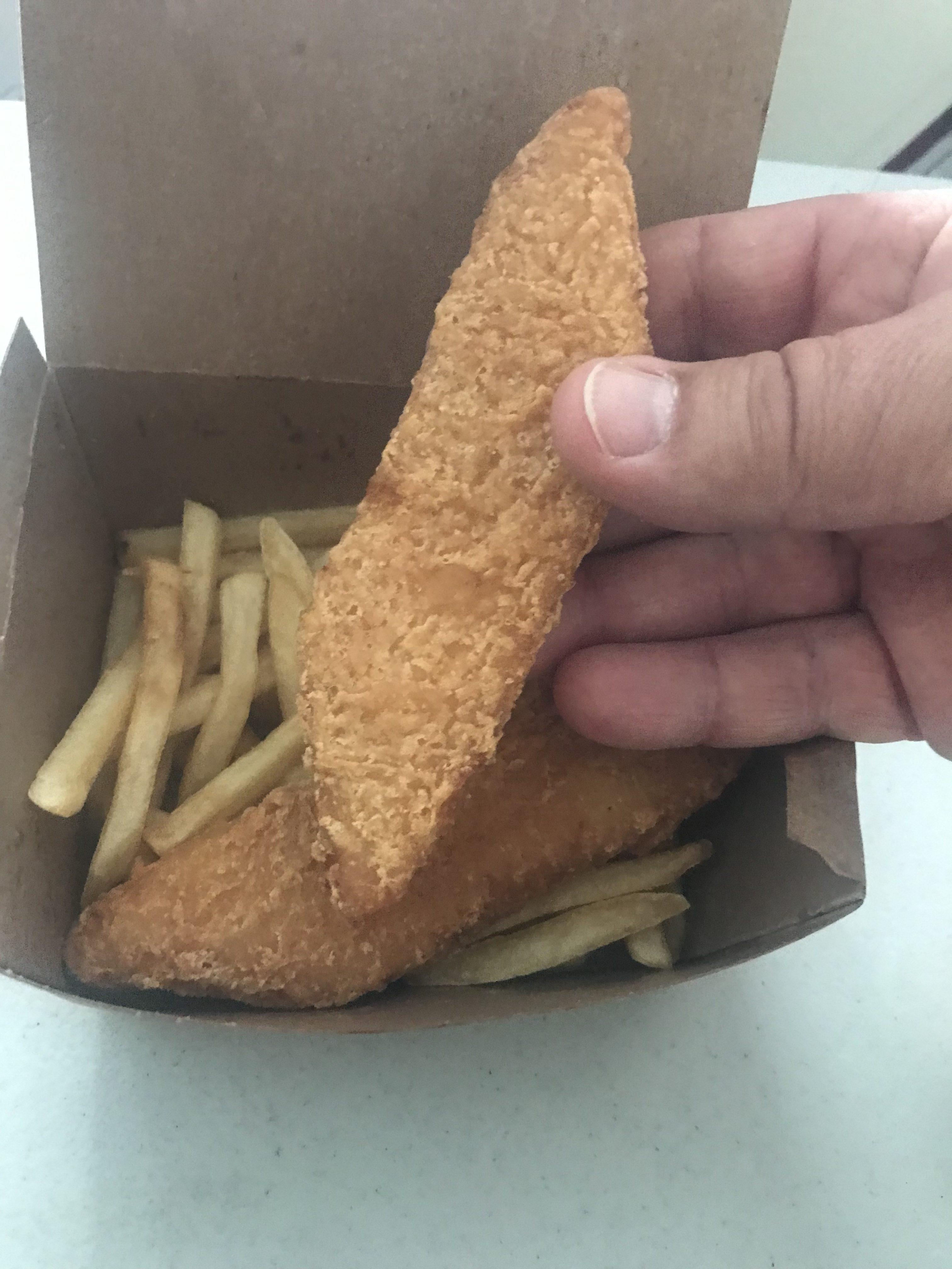 McDonald's Fish and Chips
