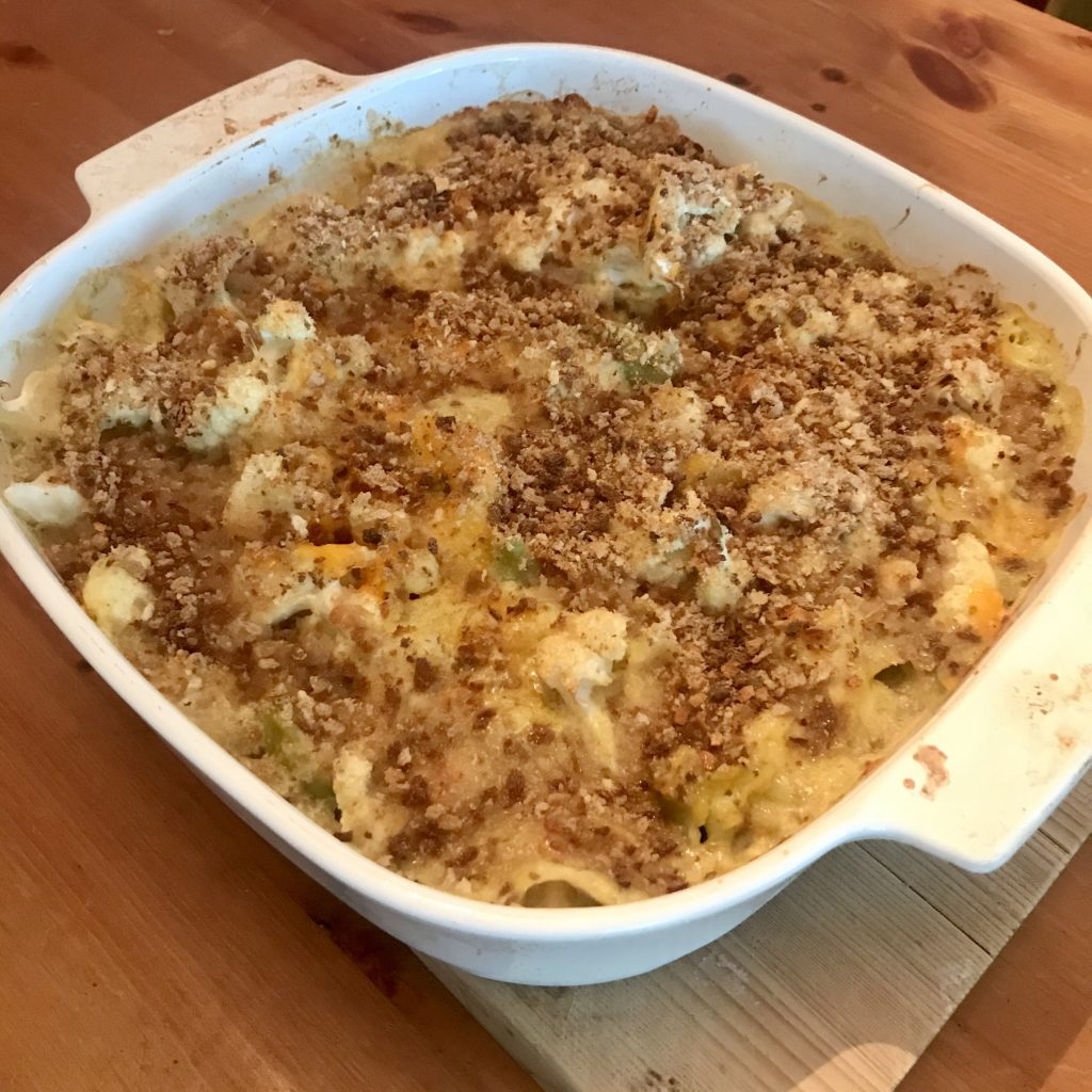 Cauliflower Mac n Cheese
